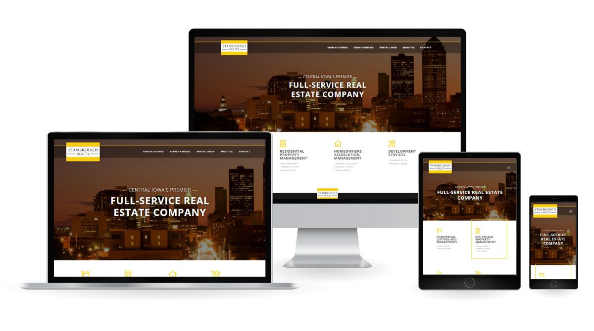 Stanbrough Realty - Website Refresh