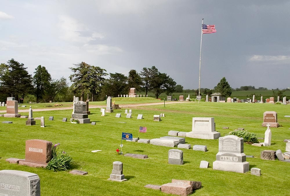 Rolfe Cemetery 2004
