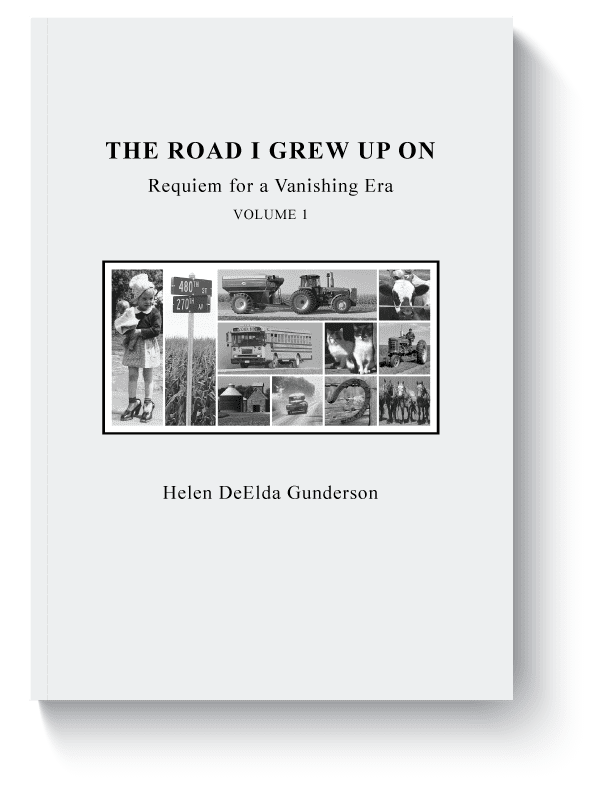 The Road I grew up on - book mockup