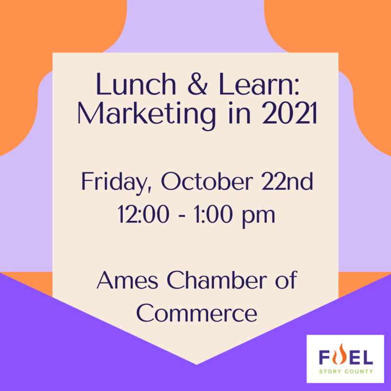 October In-Person Lunch & Learn: Marketing in 2021